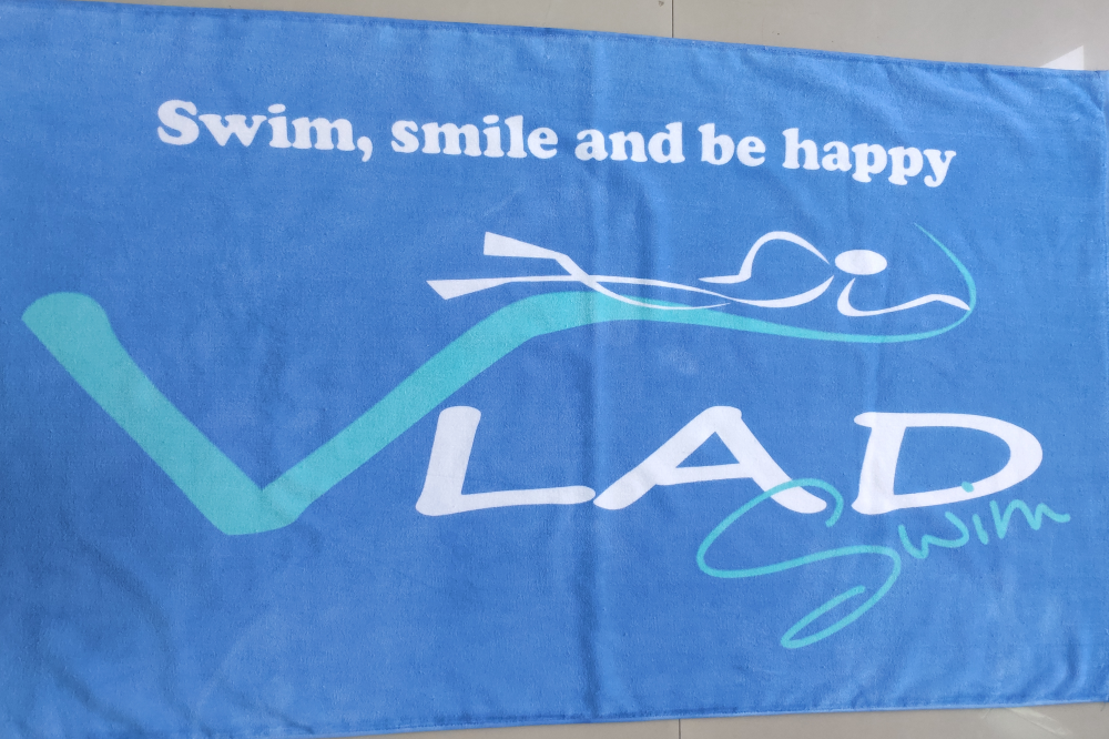Vladswim blue towel